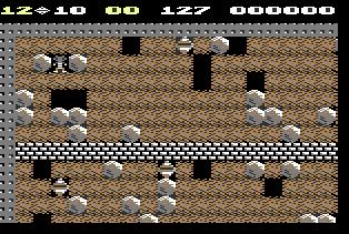 Boulder Dash (1984) na C64
