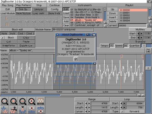 DigiBooster 3 - AmigaOS 3.x