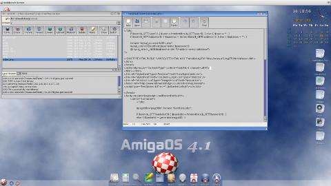 AmigaOS 4.1 - foto: amigaos.net