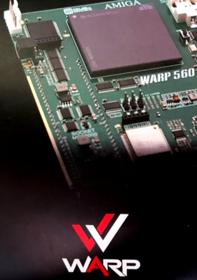 WARP turbo cards with processor MC68060 for Amiga 500 and 1200