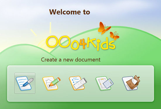 open office for kids